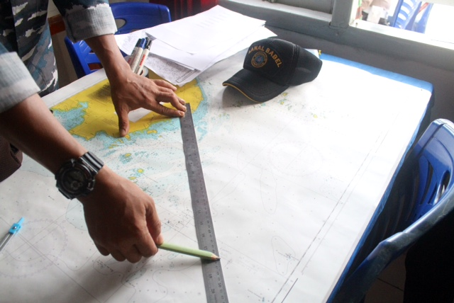 The search for the missing plane will focus on three locations off east Belitung, confirm officials