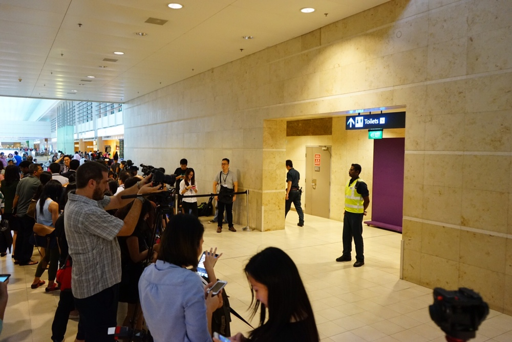 Changi Airport Group confirms that all next-of-kin have left the relatives' holding area for the night