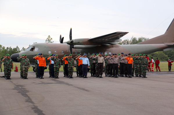 Two bodies depart Pangkalan Bun for Surabaya for identification