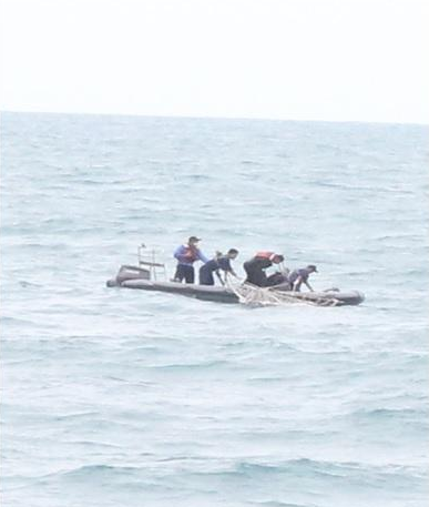 The body of a female victim has been recovered on Malaysian vessel KD Perak. The body will be handed over to Indonesia's BASARNAS search and rescue agency, says Malaysian Chief of Navy Abdul Aziz Jaafar
