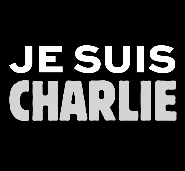 "The slogan ""Je suis Charlie"", meaning ""I am Charlie"" has been the anthem of supporters ever since day one of the attacks"