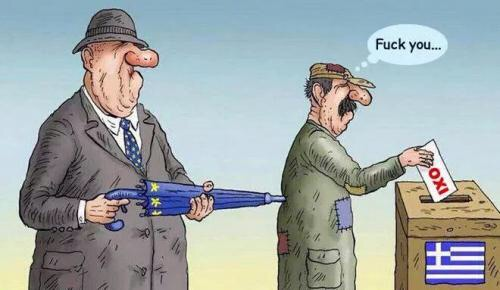 Who do you trust? The Eurocrats or a hypocritical Greek government?