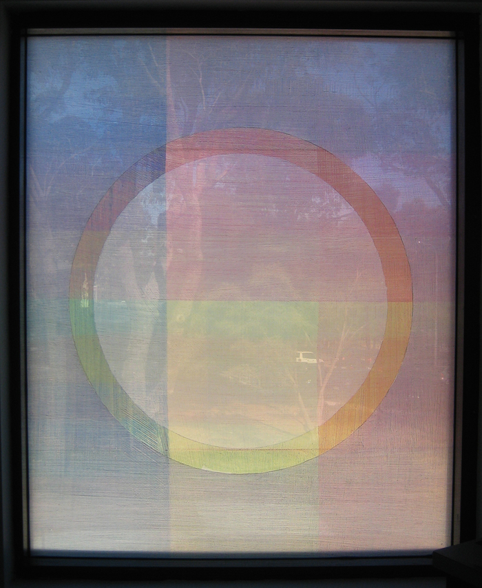 Eveline Kotai - Wanneroo Senior High School,Stage 1, Digiglass Window 1. Architects: Darryl Way & Associates.