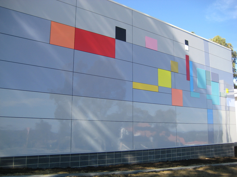 Eveline Kotai - Wanneroo Senior High School, Stage 1, Wall 1 - architects - Darryl Way & Associates