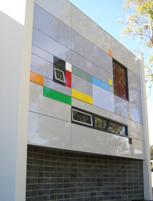 Eveline Kotai - Wanneroo Senior High School, Stage 1, Wall 3 - architects - Darryl Way & Associates