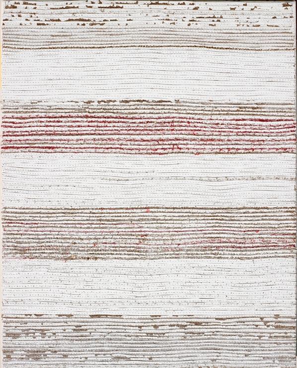 Eveline Kotai - Selvage, 2012, mixed media, 50x40cm