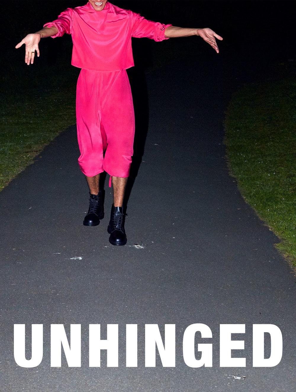 Unhinged - Hannah Sykes award winning graduate collection, 2015