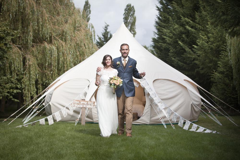 Wedding Glamping Accommodation | Love Lotus | Oxford & Bristol