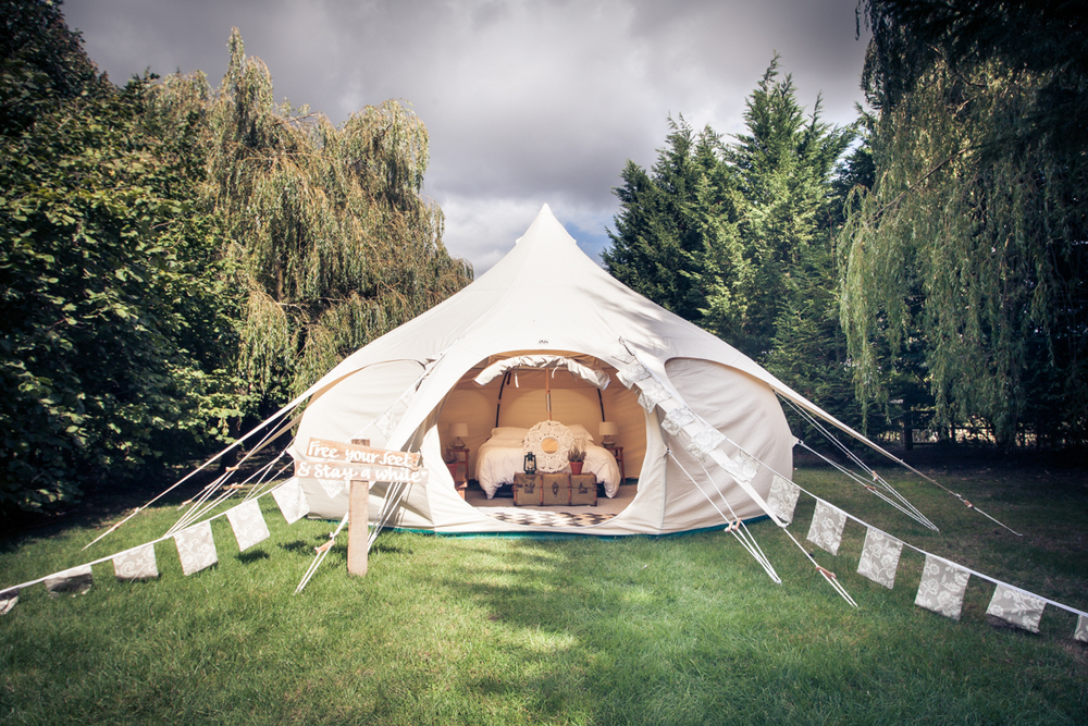 Wedding Glamping Tent