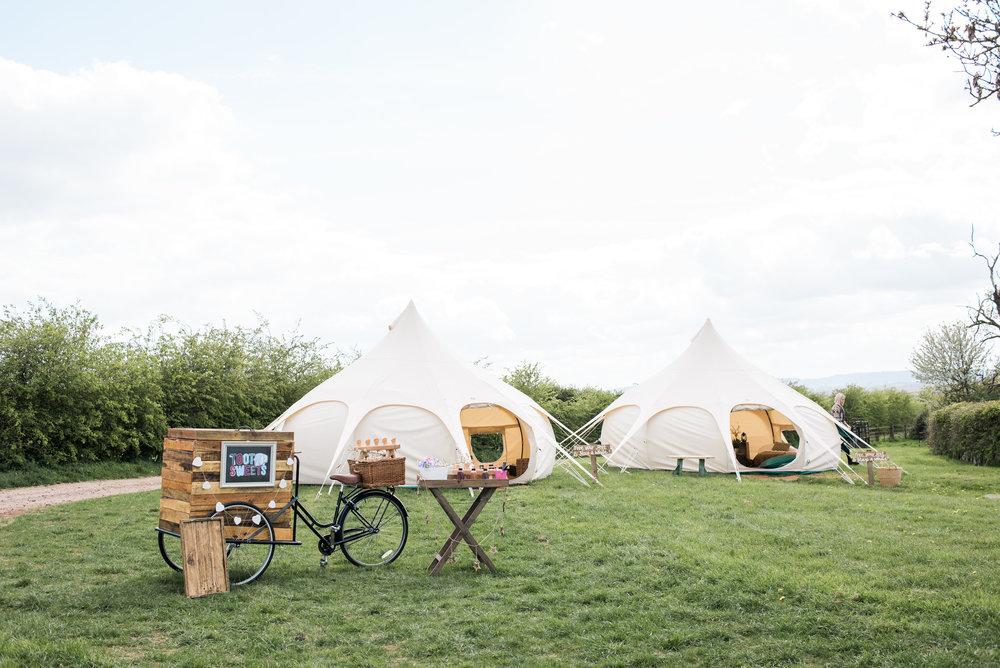 Glamorous Camping Tent