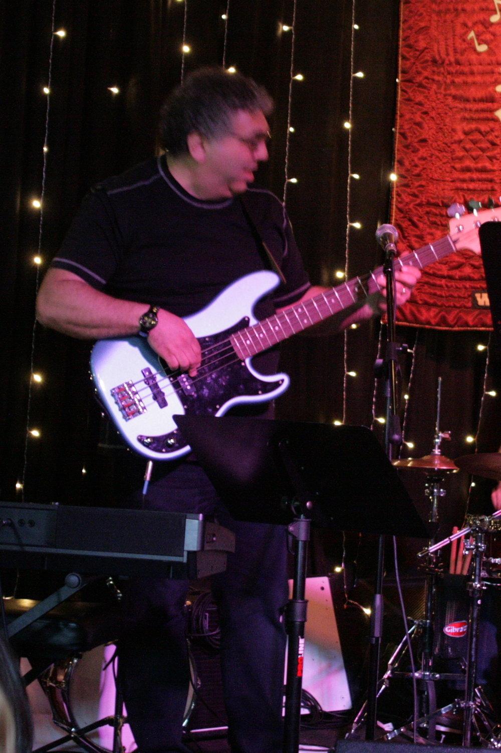 Hal playing at the 2017 Recital at Crossroads in Garwood. NJ