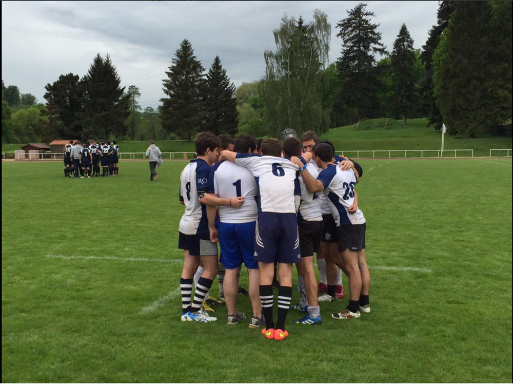 #2. HEC Paris vs. IEBusiness in the rugby finals. (via @HECMBAT)
