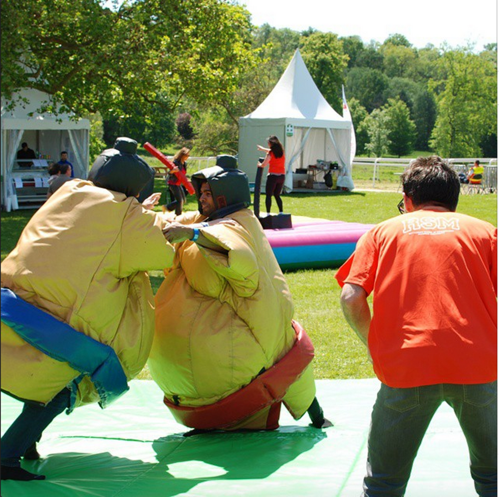 #27.  Sumo-wrestling, of course.  Not as easy as it looks...  (via  MBA Only )