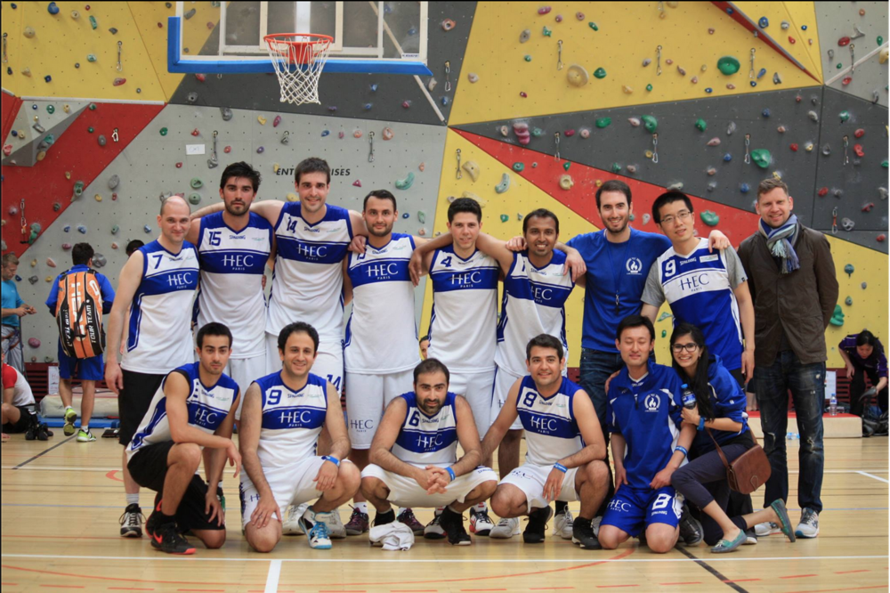 #36.  HEC Paris men's basketball team takes the gold. (via hecparismba)