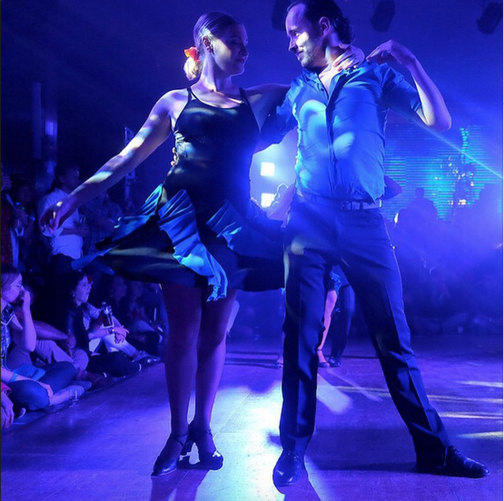 #39.  More dancing, via London Business School's salsa team.  (via  londonbschool )
