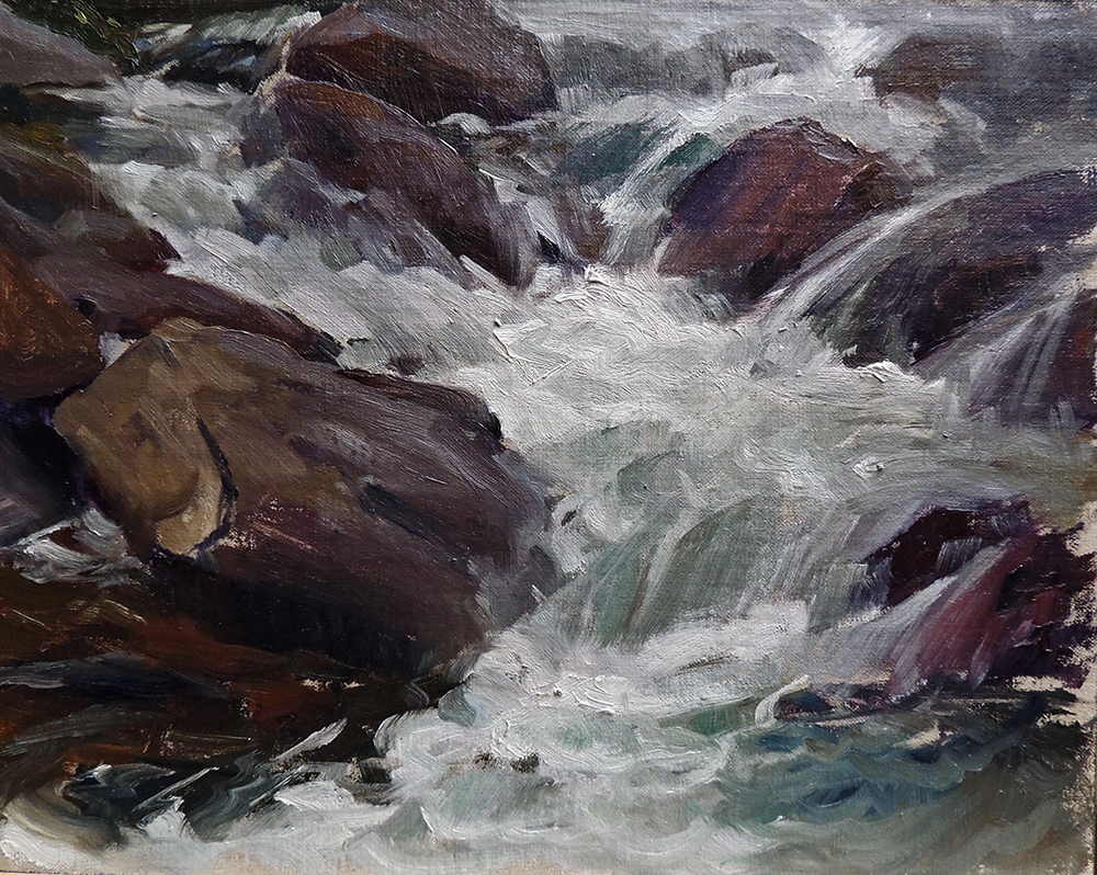 Overcast Rapids
