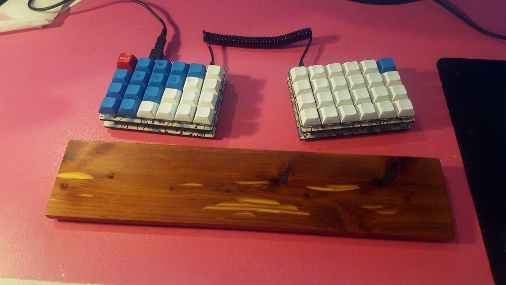 Custom Keyboards — Chris Woodward