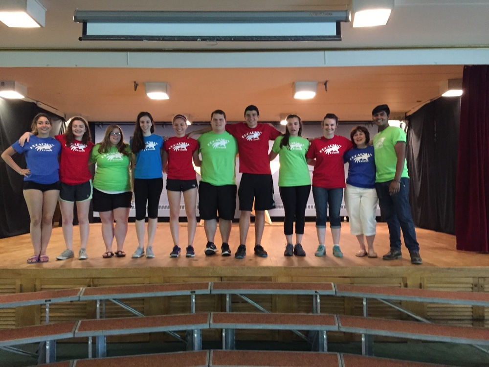Our Broadway Bound staff for 2016 (ages 17-60!)