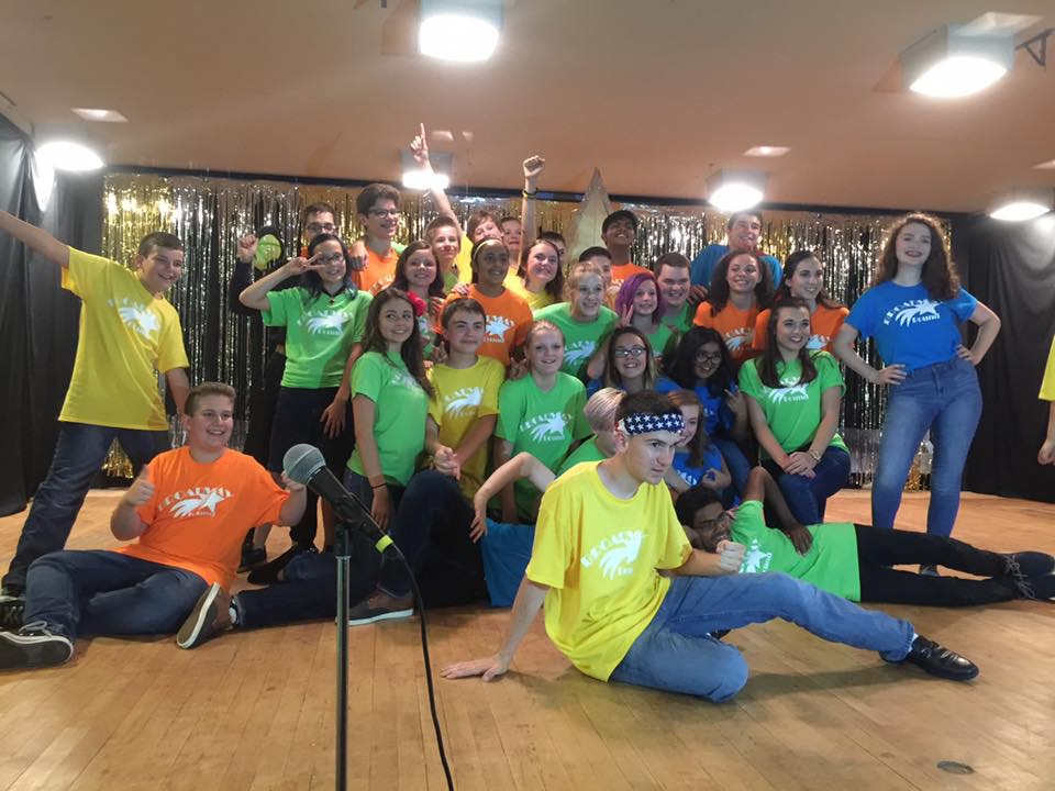 Broadway Bound campers