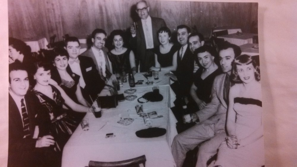 Some of my ancestors: My paternal grandfather (standing); my parents; my aunts and uncles