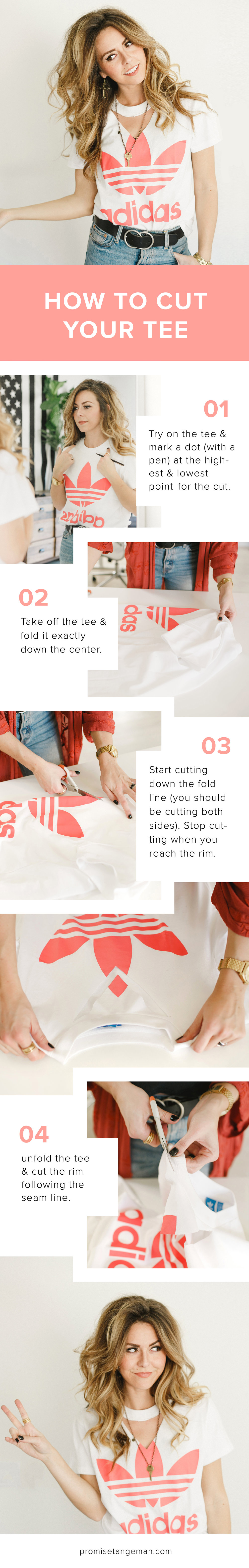 how to cut your t-shirt by Promise Tangeman