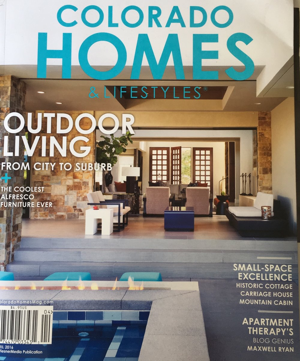 Colorado Homes and Lifestyles magazine  - English