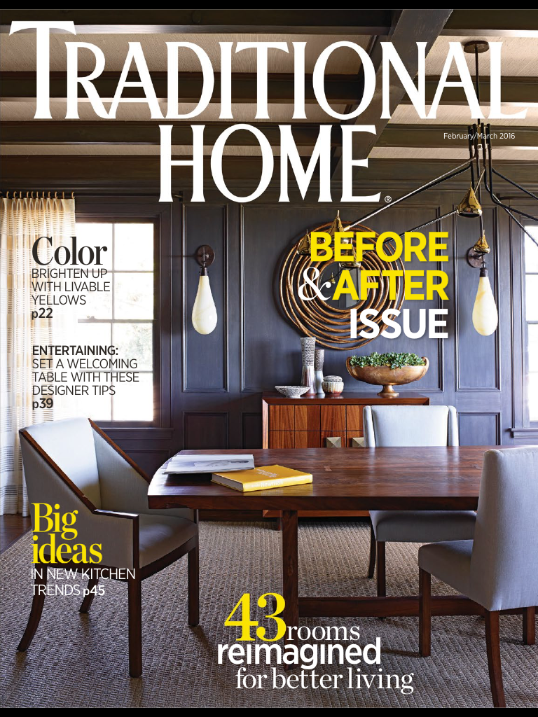 Traditional Home magazine - English