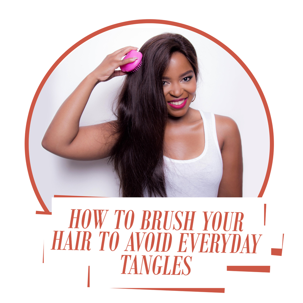 how to brush your hair to avoid everyday tangles moriri by lesedi