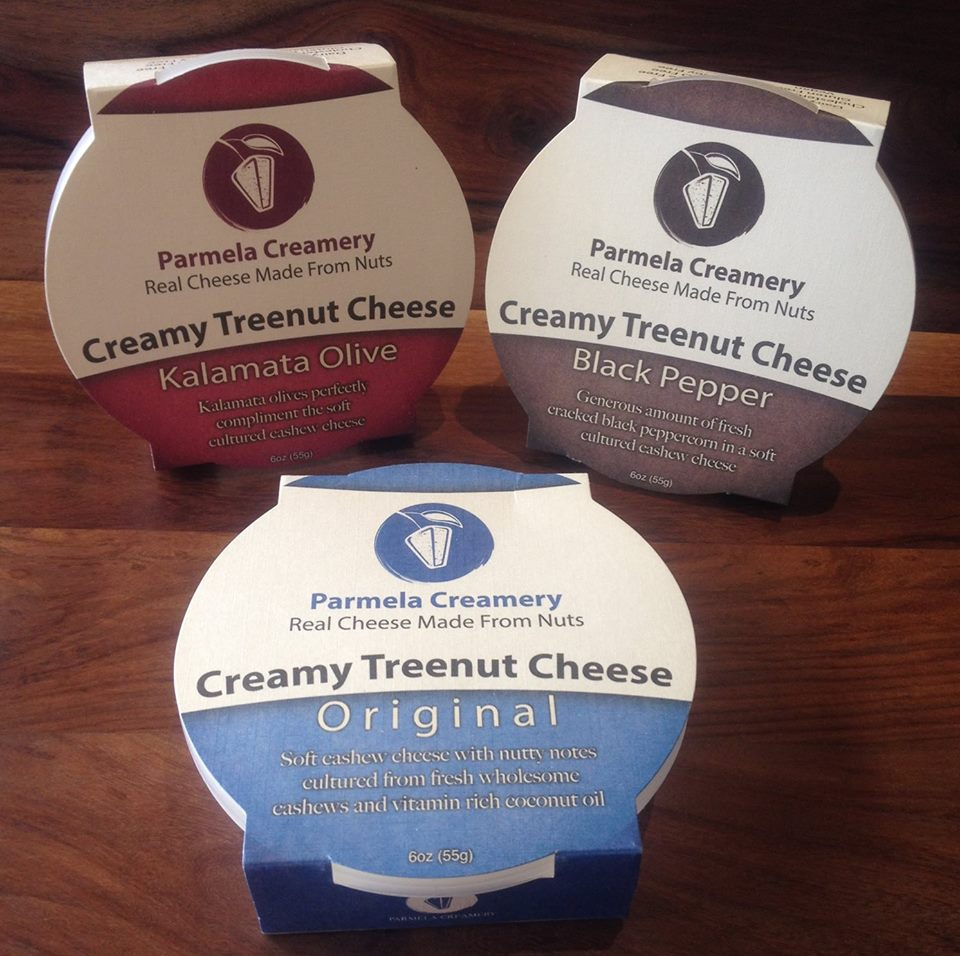 Creamy Treenut Cheeses