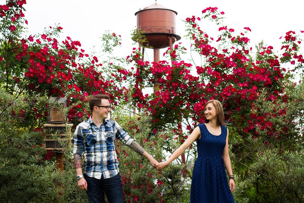 Blaylock Imagery McMenamins Edgefield Portland Oregon Engagement