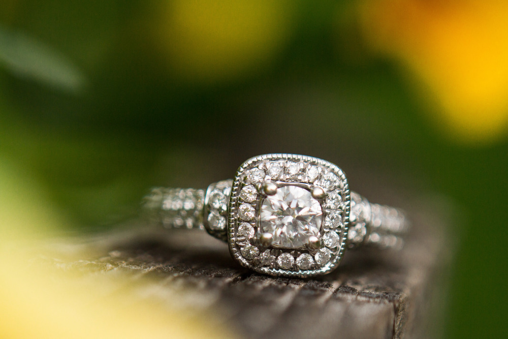 Blaylock Imagery McMenamins Edgefield Portland Oregon Engagement Ring