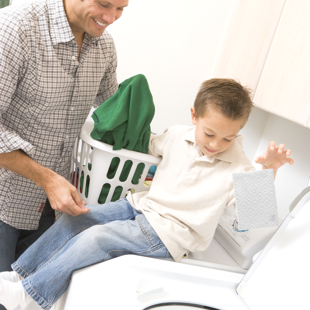 So simple, makes laundry child's play!