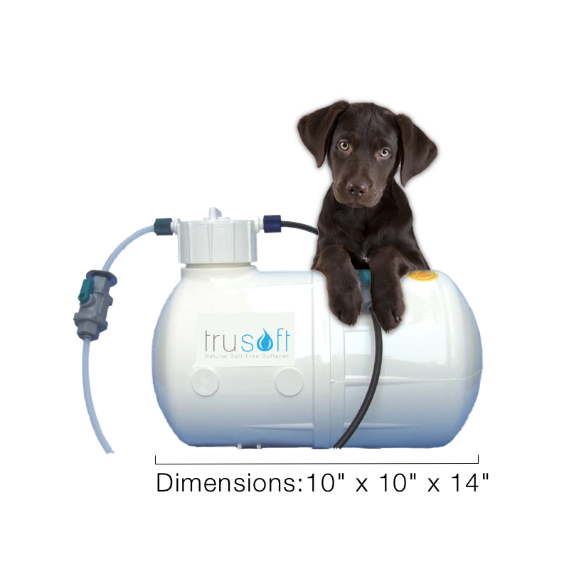 TRULY AFFORDABLE. - You don't have to pay thousands of dollars for a monstrous system to enjoy the benefits of soft water.We're practically giving away the compact truSoft system, and you only buy the solution you need for the benefits of soft water.