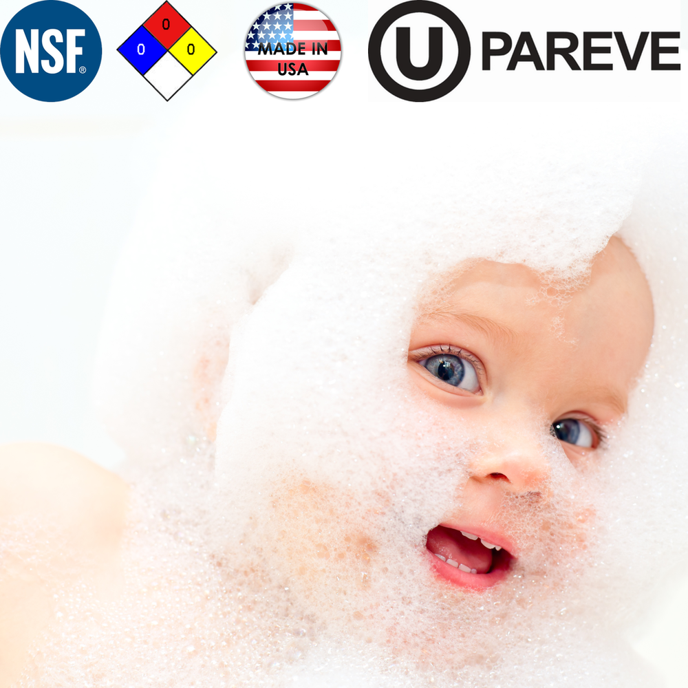 TRULY SAFE. - The patented, all-natural truSoft solution is NSF-60 Certified for the health of your family, home, and the environment.NO SALTNO PHOSPHATESNO CITRIC ACIDtruSoft eliminates the harm of hard water without removing the beneficial minerals from your water.