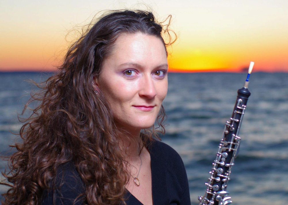 Kendra Hawley, o boe/english horn Laura and Kenneth Wernick Chair