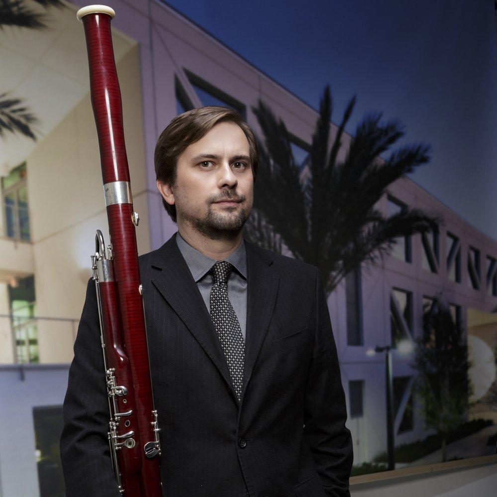 Gabriel Beavers,  bassoon