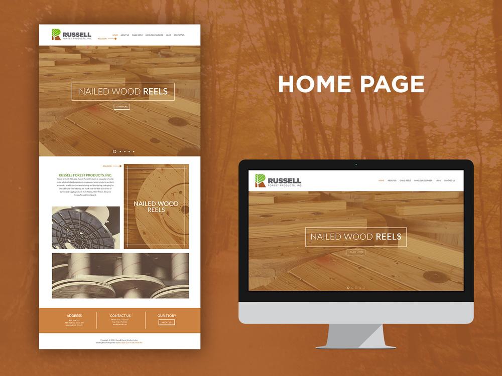 Russell Forest Website Design