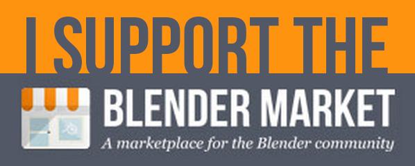 3d blender store
