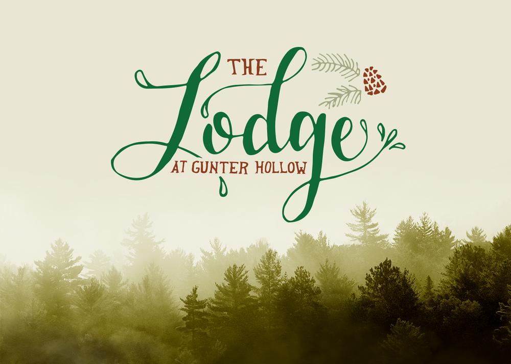 The Lodge at Gunter Hollow Branding