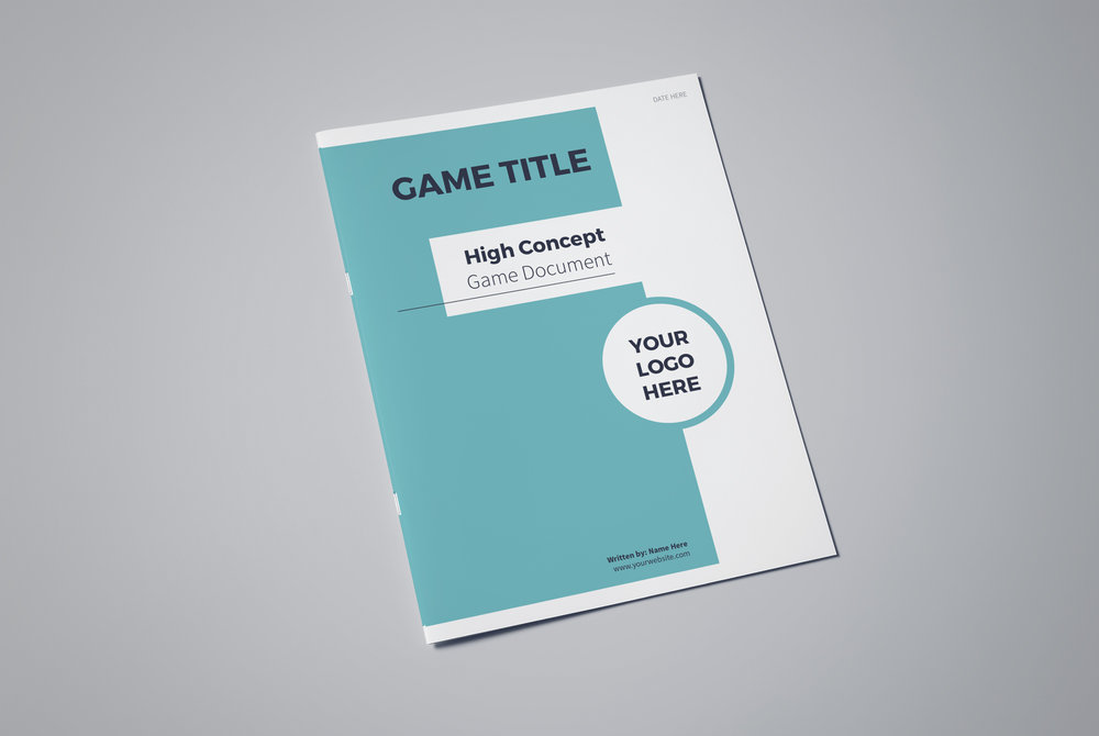 High Concept Game Document Template Lauren Hodges Illustrator - Game concept document