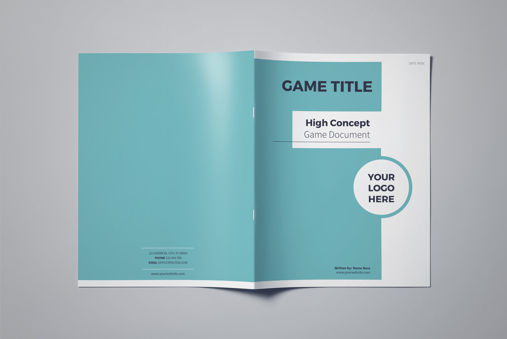 High Concept Game Document Template Lauren Hodges Illustrator - High concept document game design