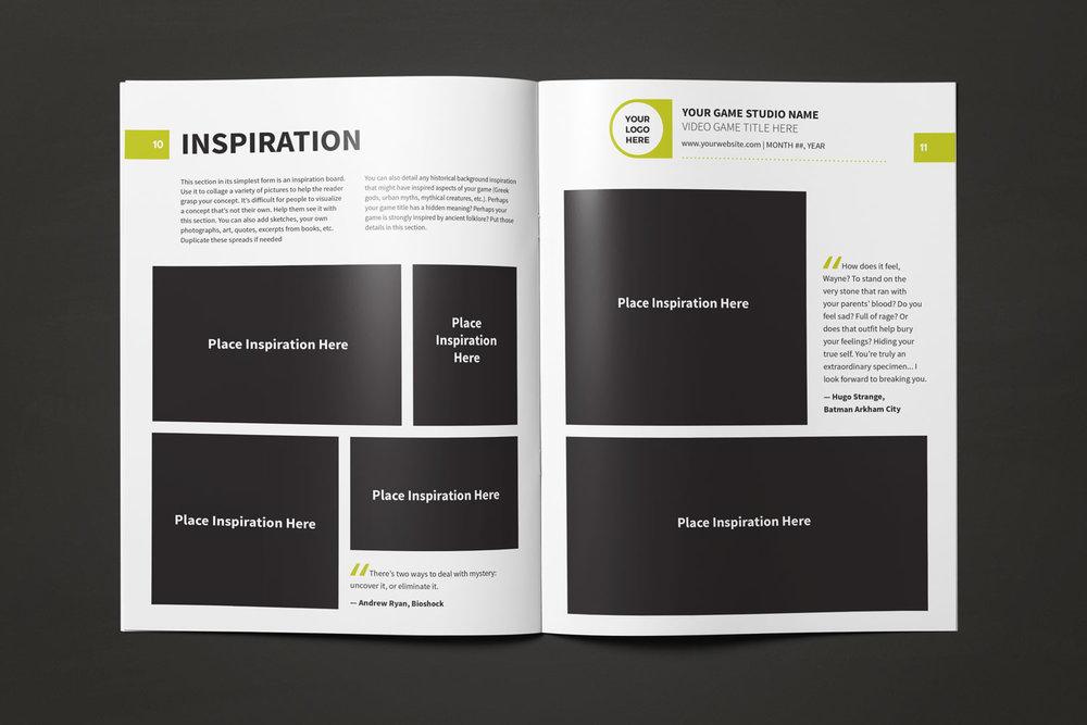 Game Design Document Template Lauren Hodges Illustrator - Game concept document example