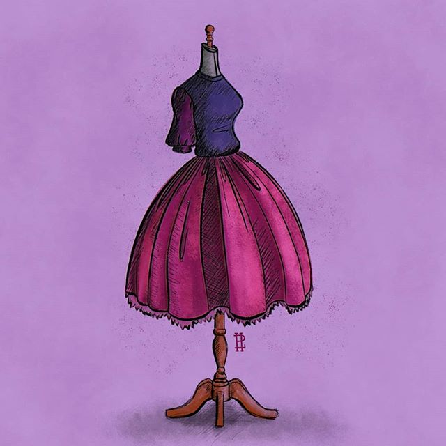 Day 11: Cruel . . If I was a Disney villain, I think I'd be Madam Mim. So, I decided to draw my Villain counterpart's garb for today's prompt. It's not perfect, I would have loved to perfect this some more. Inktober is really starting to get hard. It's difficult to find time on those really busy days. I hope to revisit this prompt in the future. . . #inktober2018 #inktober #inktoberday10 #digitalart #illustration #illustrationartists #digitalillustration #fashionart #cruel #drawing #girlsinillustration #illustrationoftheday #inktoberchallenge #disney #disneyvillains #madamemim #swordinthestone #theswordinthestone