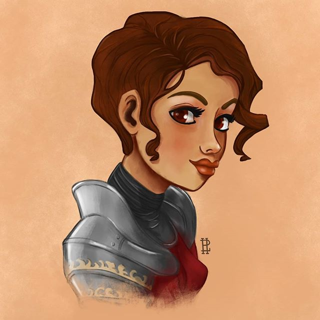 I finally finished my first DND portrait for the campaign I'm running. Female human cleric. I tried an entirely new rendering style. This style is definitely more digital painted than my usual rough sketch rendered style. Not sure how I feel about it. Had a lot of fun with this! . . #characterdesign #procreate #digitalart #illustration #illustrationart #illustrationdaily #digitalillustration #characterart #dndart #dndcharacter #dungeonsanddragonsart #dungeonsanddragonscharacter #dnd #dungeonsanddragons