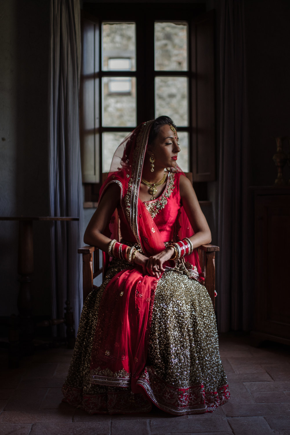JESSY & ANTONIO  From London / Indian + Catholic Wedding in Italy