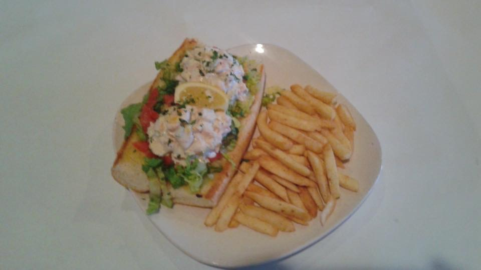 Shrimp Salad Hoagie