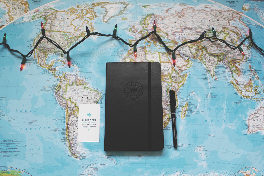 Wherever your travels take you this holiday season, write the story of healing through freedom with us, or give one of our customized Moleskine journals as a gift. Click the photo to make a $150 donation now.