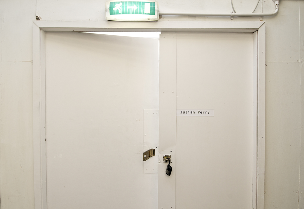Julian Perry Studio Door