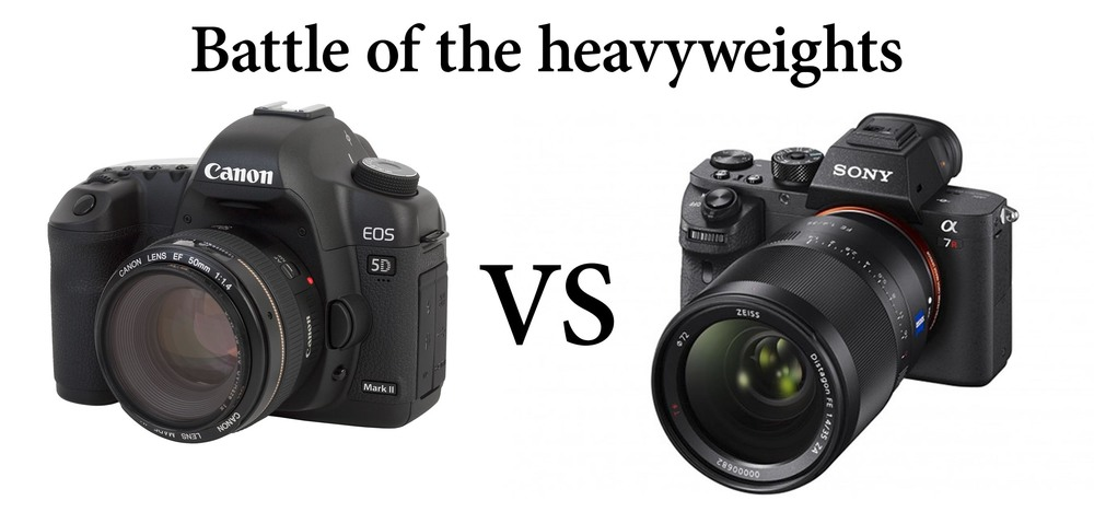 Canon 5dmkII vs Sony a7rII
