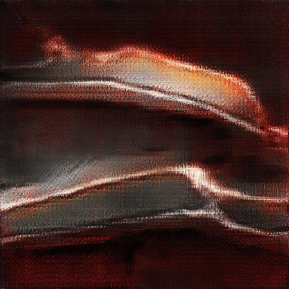 Image créée par une des IA artistiques que j'ai écrite en 2018.